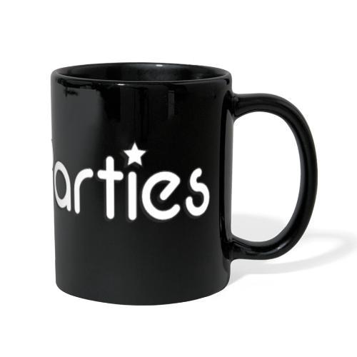 The Parties logo - Full Colour Panoramic Mug