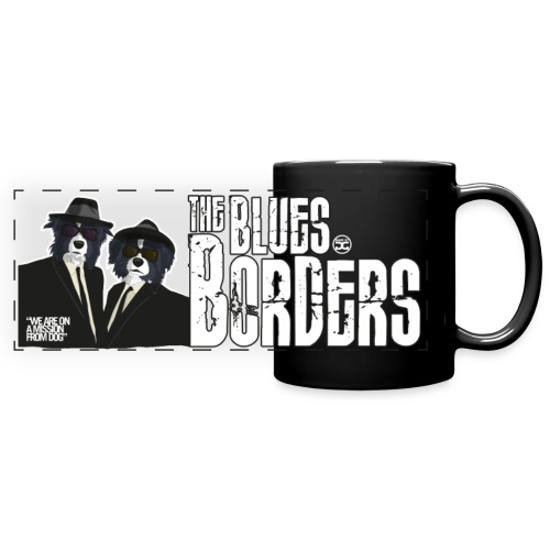 The Blues Borders | Mug - Full Color Panoramic Mug