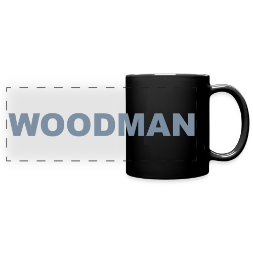 WOODMAN silver - Panoramatasse farbig