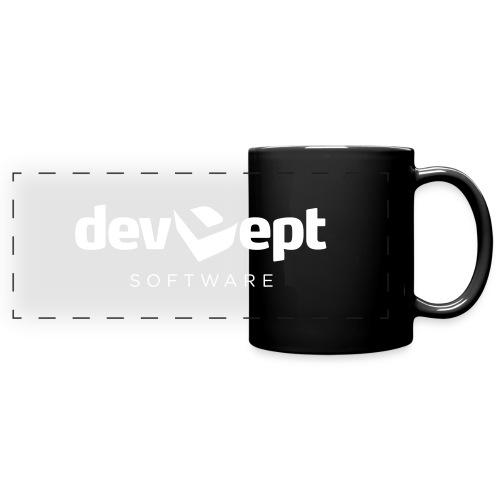 devDept Software (white) - Full Color Panoramic Mug