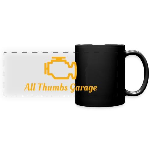 ATG logo + text - Full Colour Panoramic Mug