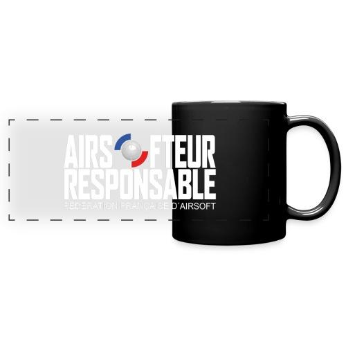STAFF - Airsofteur Responsable - Mug panoramique uni