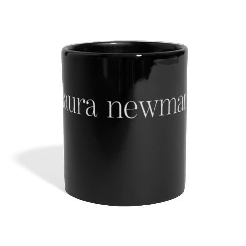 laura newman. Logo | white - Panoramatasse farbig