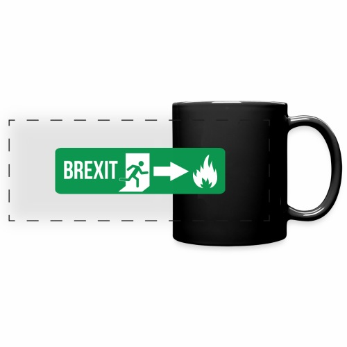 Fire Brexit - Full Colour Panoramic Mug