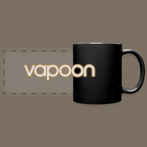 Vapoon Logo simpel 2 Farb - Panoramatasse farbig