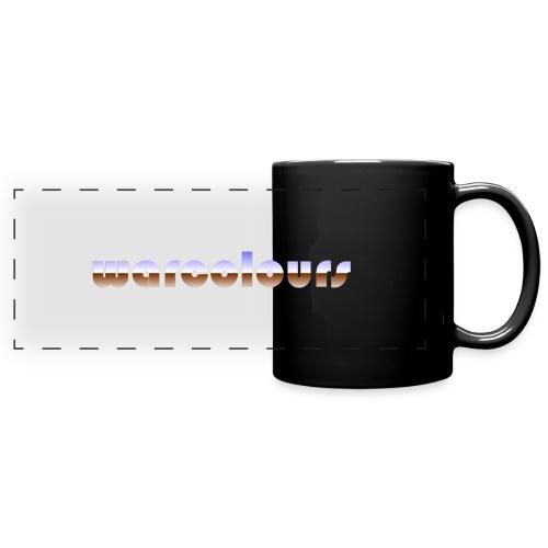 warcolours heavy metal - Full Color Panoramic Mug