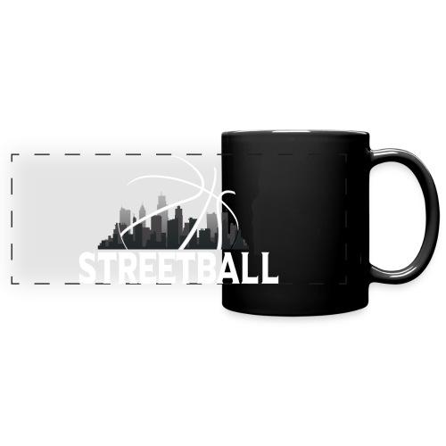 Streetball Skyline - Street basketball - Full Colour Panoramic Mug
