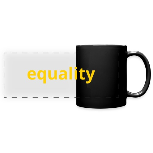 Equality - Taza panorámica de colores