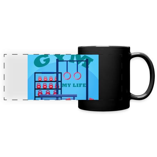 GYM - Panoraamamuki värillinen
