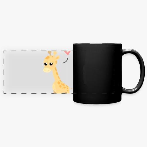 Giraffe Me Crazy - Panoramakrus, farvet