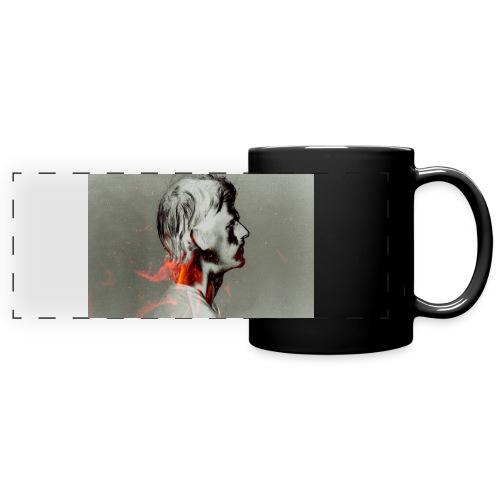 napalm cover - Mug panoramique uni