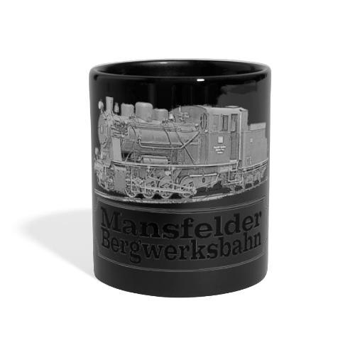 mansfelder bergwerksbahn dampflok 2 - Panoramatasse farbig