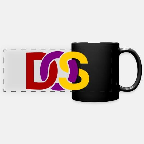 Retro MS DOS Logo - Full Color Panoramic Mug
