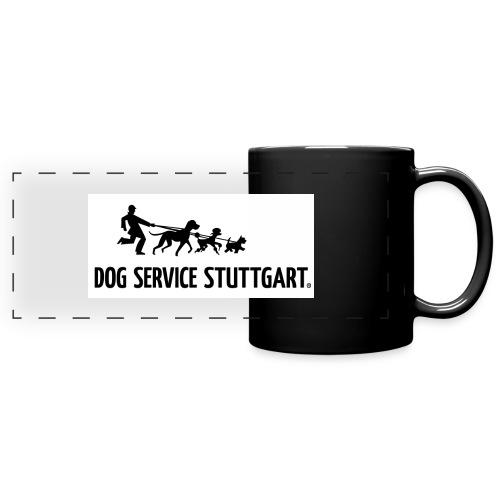 Dog Service Stuttgart horizontal - Panoramatasse farbig