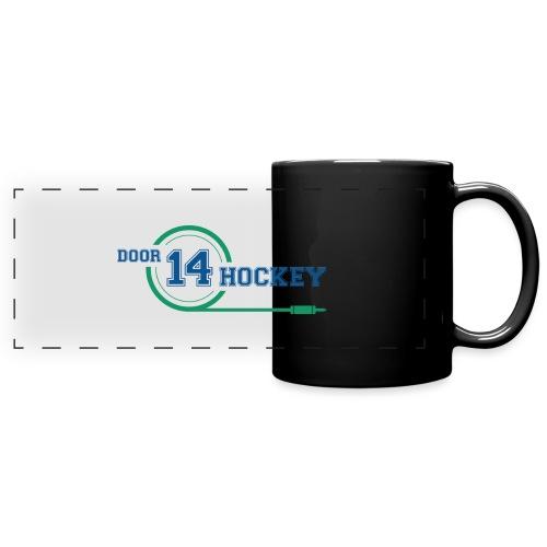 D14 HOCKEY LOGO - Full Colour Panoramic Mug