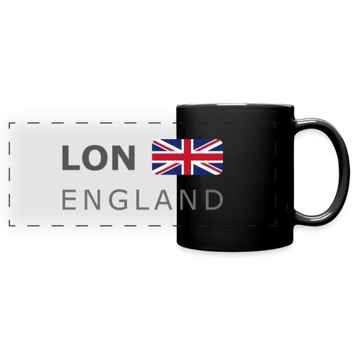LON ENGLAND BF dark-lettered 400 dpi - Full Color Panoramic Mug