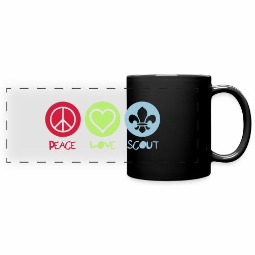 Peace Love Scout - Mug panoramique uni