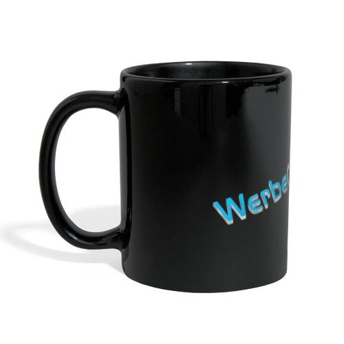 WerbeCocktail - Logo Version 3D - Panoramatasse farbig