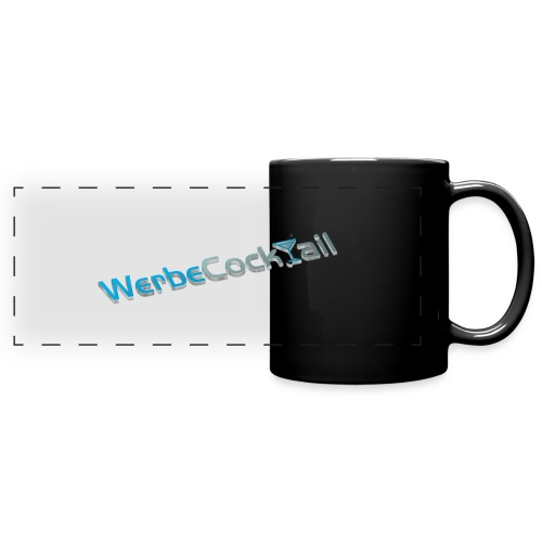 WerbeCocktail - Logo Version 3D - Panoramatasse farbig