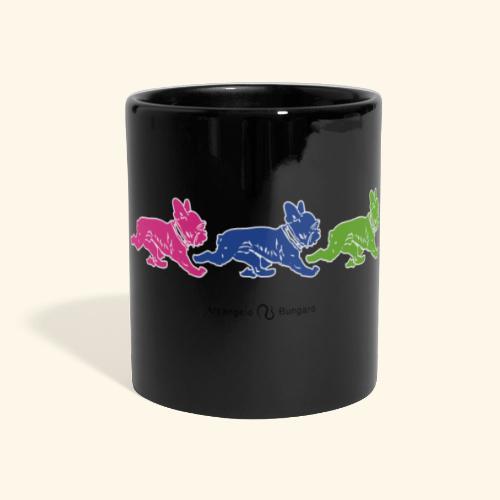 frenchies multicolor - Mug panoramique uni