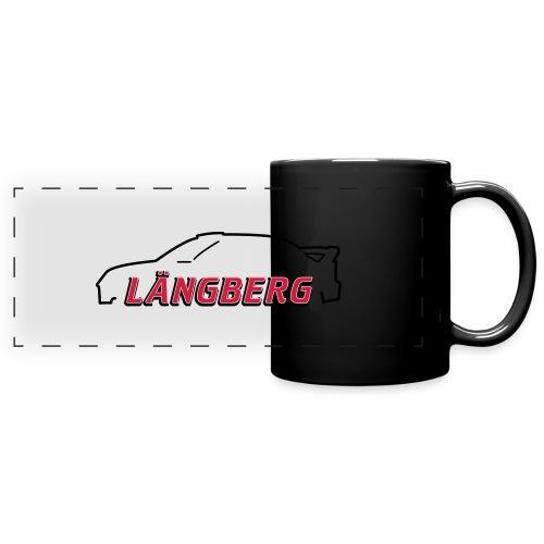logotype Laengberg - Färgad panoramamugg