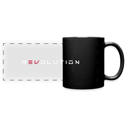 REVOLUTION BLACK - Panoramatasse farbig