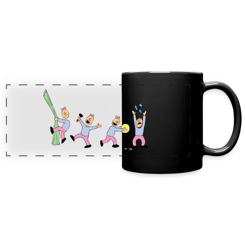 toern babybody - Panoramakopp i farge