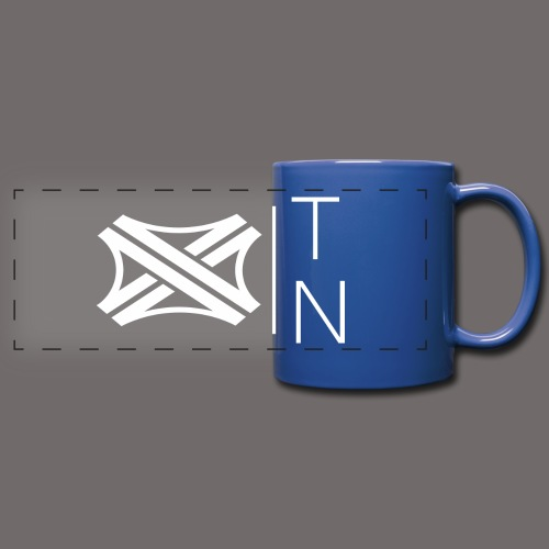 Tregion logo Small - Full Colour Panoramic Mug