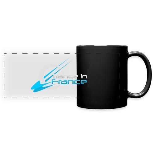Trance In France Black - Large Logo - Mug panoramique uni
