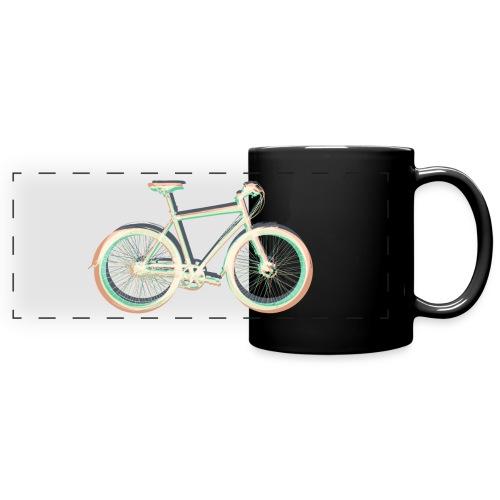 Fahrrad Bike Outdoor Fun Radsport Radtour Freiheit - Full Color Panoramic Mug