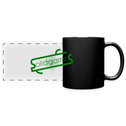 Solidgames Crewneck Grey - Full Colour Panoramic Mug