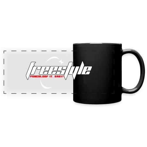 Freestyle - Powerlooping, baby! - Full Color Panoramic Mug