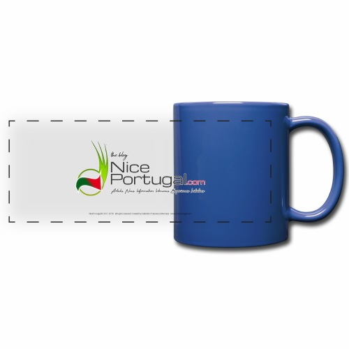 NicePortugal.com Logo - Tazza colorata con vista
