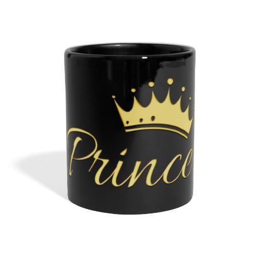 Prince Or -by- T-shirt chic et choc - Mug panoramique uni