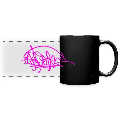 prc ikon rose tag - Mug panoramique uni