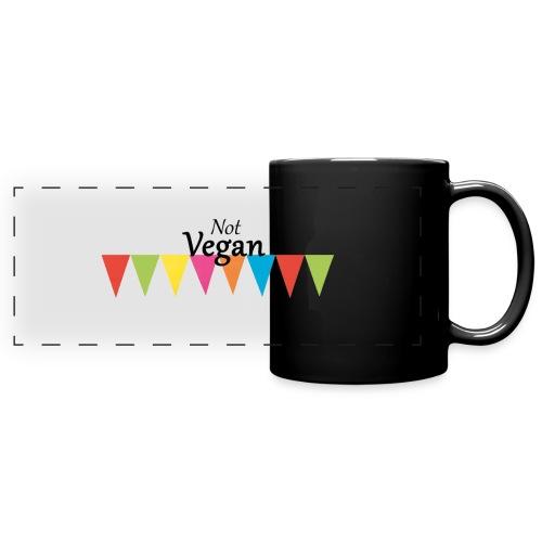 Not Vegan - Full Colour Panoramic Mug