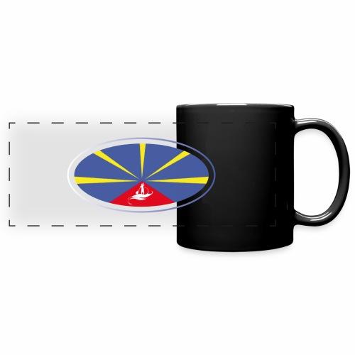 Paddle Reunion Flag - Mug panoramique uni