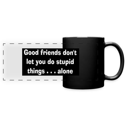 good friends - Full Colour Panoramic Mug