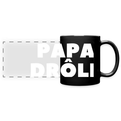 LE SEUL PAPA DRÔLE - Mug panoramique uni