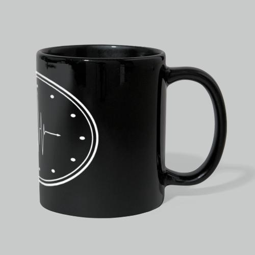 Heartbeat Clock - Full Colour Panoramic Mug