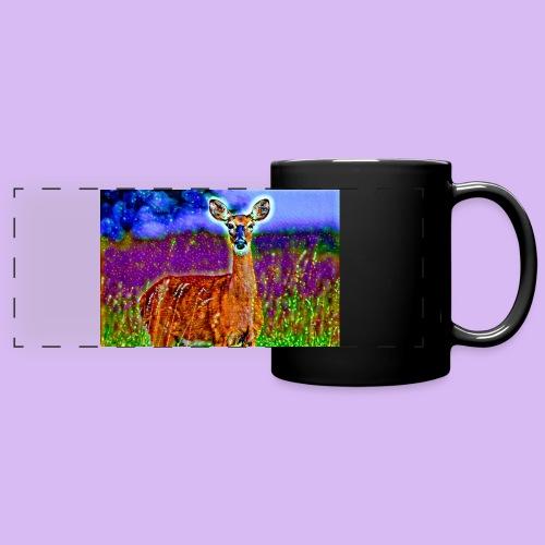 Cerbiatto con magici effetti - Tazza colorata con vista