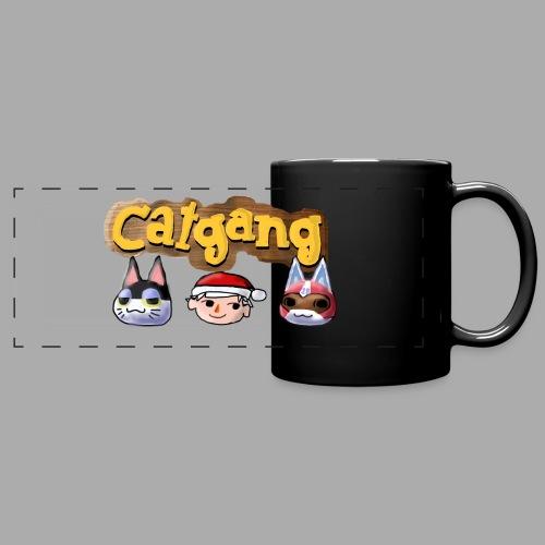 Animal Crossing CatGang - Panoramatasse farbig