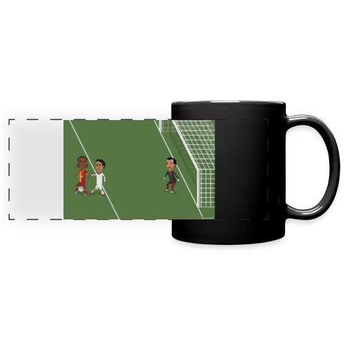 Backheel goal BG - Full Colour Panoramic Mug