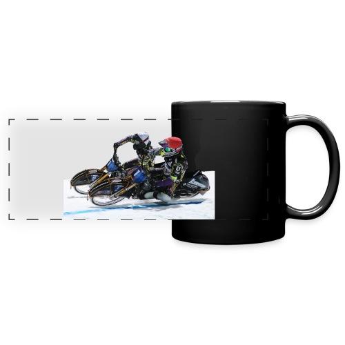 Paarfahren Max und Tobi - Panoramatasse farbig