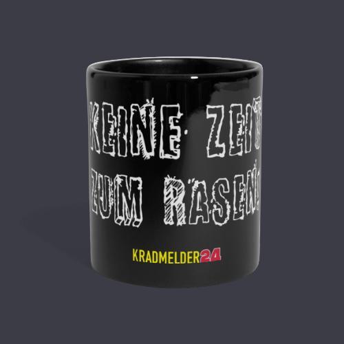 Keine Zeit zum Rasen Kradmelder24 - Panoramatasse farbig