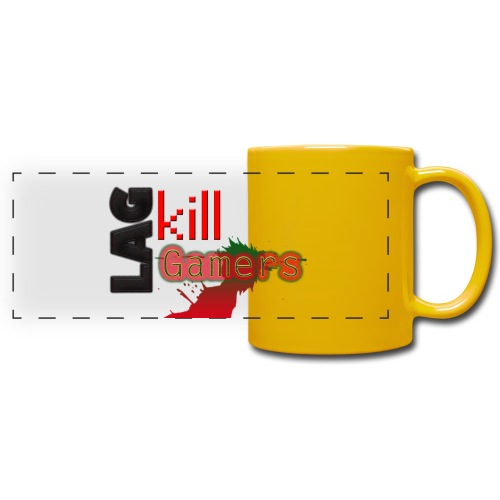 LAG Kills - Full Colour Panoramic Mug