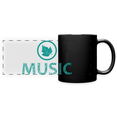leaf music - Full Colour Panoramic Mug