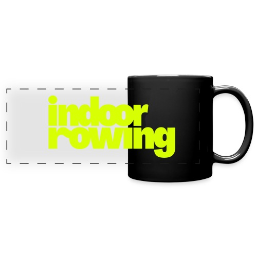 indoor rowing - Full Colour Panoramic Mug