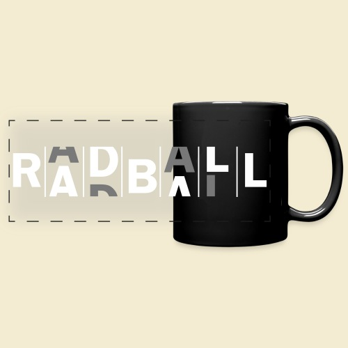 Radball - Panoramatasse farbig