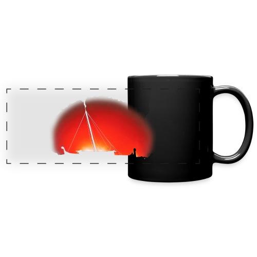 Bear Sunset - Full Colour Panoramic Mug